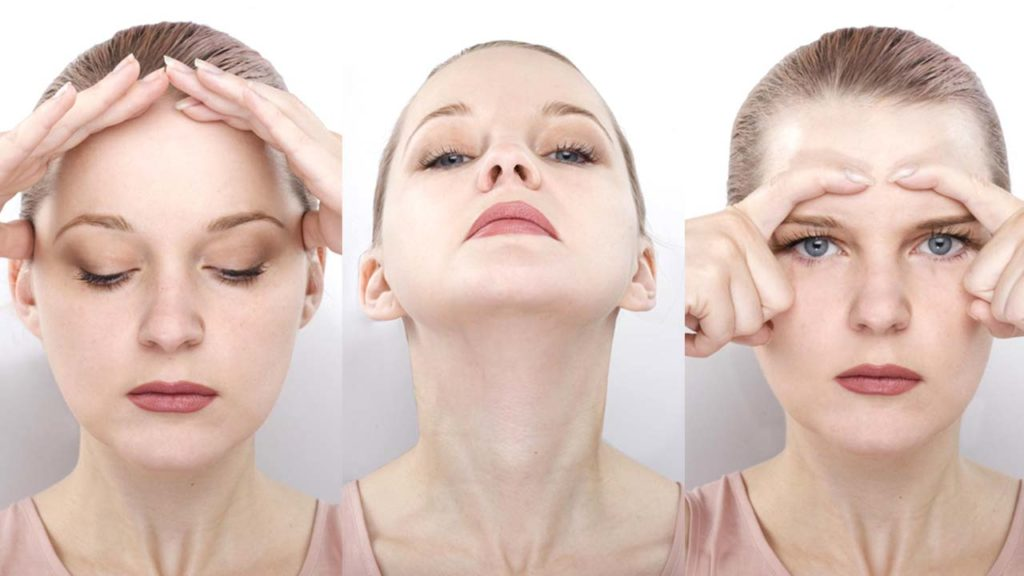 Eye Lid Lift Exercises